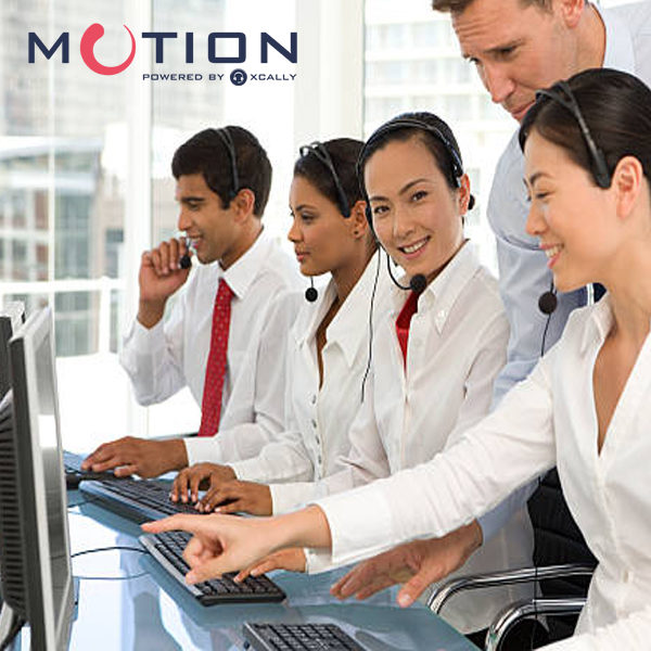 XCALLY Motion Cloud Call Center Solution Thailand